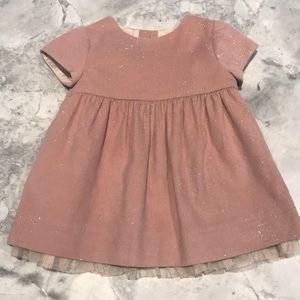 Zara sparkly baby girl dress 3-6 months